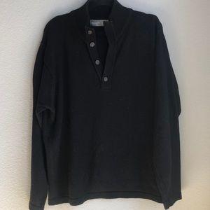 Black Oscar De La Renta sweater